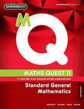 Maths Quest 11 Standard General Mathematics TI-Nspire Calculator Companion by R…