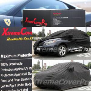 2016 2017 LEXUS RX350 RX450H BREATHABLE CAR COVER W/MIRROR POCKET - BLACK