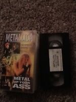 metallica metal up your Vhs