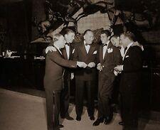 RARE STILL DEAN MARTIN WITH JERRY, RONALD REAGAN, GEORGE BURNS