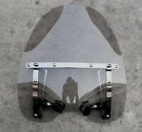 Smoke Windscreen Windshield For Harley Davidson Dyna Softail Sportster Road King