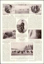 1913 PERSIA IRAN Ahmed Mirza Mushroom Rock Villenjach Teheran Soldiers (278)