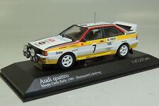 Audi Quattro Blomquist / Cederberg 2nd Monte Carlo 1984 1:43 Minichamps