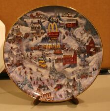 Franklin Mint McDonald's 1990s Golden Country Collectors Plate by Bill Bell
