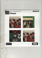 "THEM Live Broadcasts 1965-1967 7"" EP w/PS RE 60s R&B GARAGE Van Morrison"