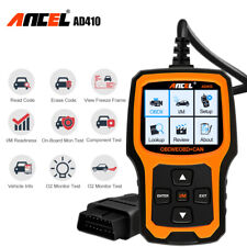 2020 Ancel AD410 Auto Car OBD2 Code Reader  Check Engine Scanner Diagnostic Tool