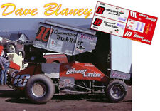CD_DSC_039 #10 Dave Blaney    1:25 Scale Decals  ~NEW~