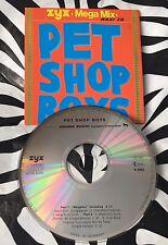 Pet Shop Boys - Megamix / West End Girls Rare CD Single