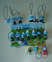 16 x Fußball Schlumpf Figur Soccer Team Football Smurfs Fußballschlümpfe Edeka