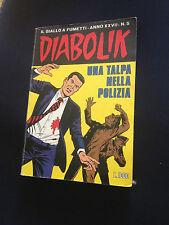 DIABOLIK ANNO XXVII - N.05 BUONO/ OTTIMO!!