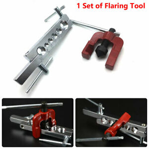 1PC Pipe Flaring Brake Line Tool Clamp Car Truck Garages Workshops Six Die Sizes