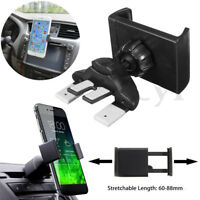 Universal Car CD Slot Phone Stand Holder Mount Cradle For Mobiles iPhone Android