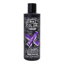 Crazy Color Shampoo For Coloured Hair 250ml Bottle - Colour Protect Purple Hair