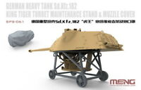 1/35 German SdKfz 182 King Tiger Turret Maintenance Stand & Muzzle Cover