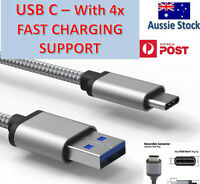 Fast Speed Charging USB Type C Data Charger Cable For Samsung Huawei Pixel 5 4 3