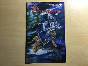 The 7th System Comic Book Issues #1, 3, 4, 5 & 6