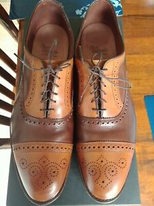Allen Edmonds Two-Tone Strand -- Size 14 D -- Barely used w/ box and bags
