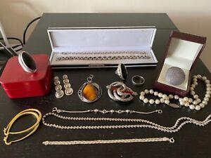 Sterling Silver Huge 925  Job Lot  II