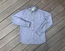 Norse Projects ANTON OXFORD Chambray Shirt Denim Niels Baldur £120 Folk Edwin