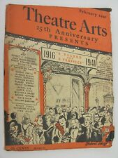 More details for theatre arts monthly february 1941 valentina 25th anniversary stage lighting