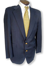 $1195 Polo Ralph Lauren Navy Blazer Canvassed Pick St Blue Sport Coat 40 04018