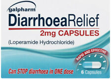 120 Tablets DIARRHOEA RELIEF 2mg CAPSULES - LOPERAMIDE HYDROCHLORIDE