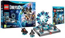 LEGO Dimensions Starter Pack Nintendo WII U IT IMPORT WARNER
