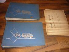 VEB IFA Ludwigsfelde LKW IFA W50 Ersatzteilkatalog ETK 1979 DDR 4-teilig truck