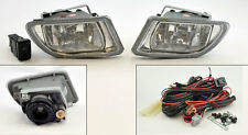 Honda Odyssey 99-04 JDM Clear Front Fog Lights Pair RH LH w/ Switch Wiring