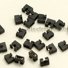 100pcs 2pin mini micro jumper for 2.00 mm Pin Header Black Standard  PCB shunts