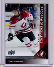 CODY HODGSON 13/14 Upper Deck Team Canada Program of Excellence #202 SP Insert