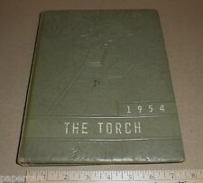 1954 East Spencer High School Elementary North Carolina NC Yearbook The Torch