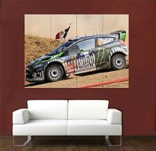 Ken Block Ford Rally enorme Cartel S689