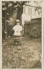 Cannonsburg PA * Child Washing Clothes RPPC 1910 Katherine Weller