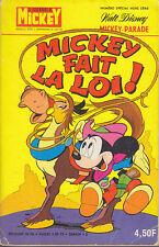 C1 Disney MICKEY PARADE 1293 bis 1977 MICKEY FAIT LA LOI