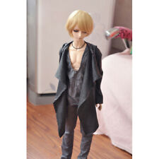 """BJD Long Wind Coat Outfits Top Grey For Male 1/3 24"""" 60CM SD DK DZ Volks Doll"""