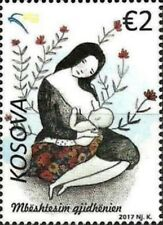 Kosovo Stamps 2017. Sustaining breastfeeding. Breast Feeding. Set MNH