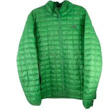 The North Face Thermoball Mens Sz XL Green Down Puffer Jacket