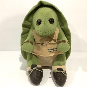 Steve Irwin's AUSTRALIA ZOO Plush Soft Toy Harriet Galapagos Tortoise 26cm 2006