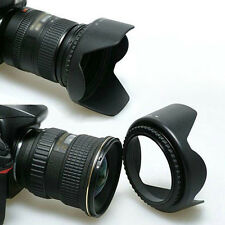 58mm Lens Hood & UV Filter & Lens Cap for Canon EOS 550D 600D 1100D Nikon Black