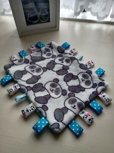 Handmade taggy/security blanket/ comforter