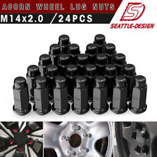20pcs 1.87 Chrome 1//2-20 UNF Wheel Lug Nuts fit 1993 Ford F-150 May Fit OEM Rims Buyer Needs to Review The spec