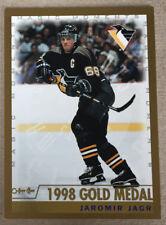 JAROMIR JAGR 1999-00 OPC MAGIC MOMENTS #280 1998 GOLD MEDAL  Pittsburgh Penguins