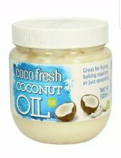 Pure Coconut Oil 100% Natural Vegan  For Beauty Skin/ Hair/ Use All Round 500ml
