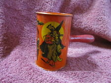 Vintage Halloween Noise Maker Kirchhof Life Of The Party Tin Noise Maker