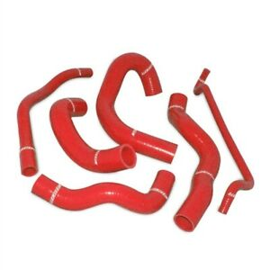 Mishimoto Red Silicone Radiator Hose Kit for 2005-2006 Ford Mustang V8