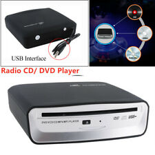 USB 2.0 Interface Car Radio CD/ DVD Dish Box Player External Stereo For Android