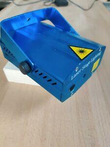 Laser Projektor Grün Rot Punkte Sound to light Sternenprojektor