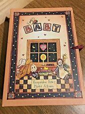 Photo Album Early Memories Linda Spivey Unisex Baby Memory Book Journal Keepsake