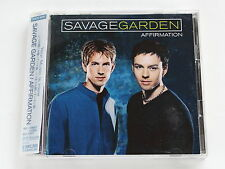 SAVAGE GARDEN Affirmation SRCS-9000 JAPAN CD w/OBI 123az62